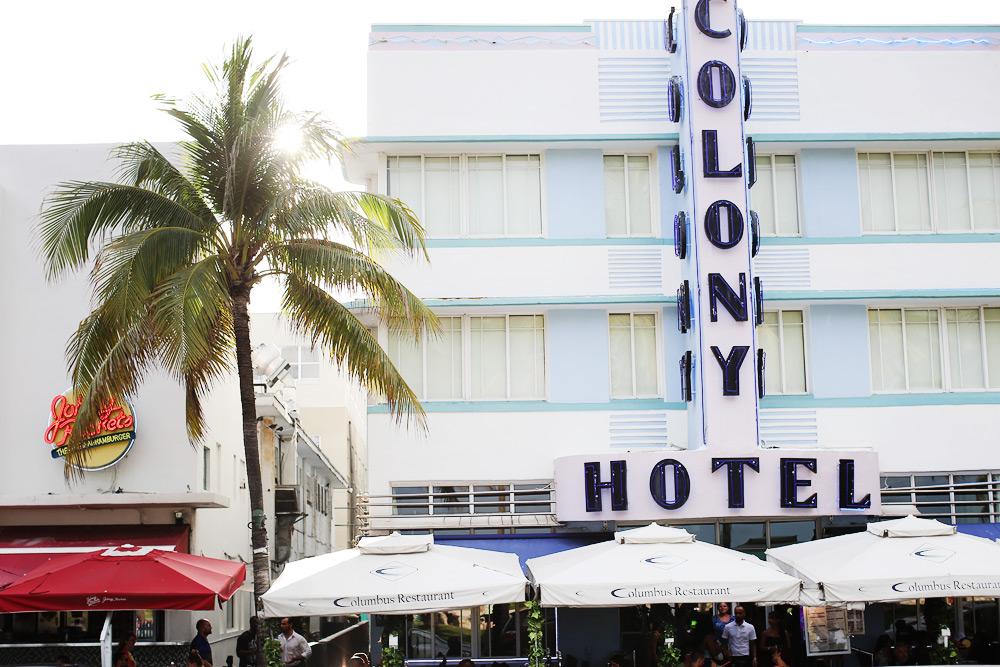 Vista de Ocean Drive, por Cup of Couple. En Miami se toman muy en serio los nombres.